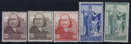 SAn Marino: Mi Nr 100 - 104 MH/* Falz/ Charniere 1924 - San Marino