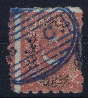Turkey: Mi Nr 18b  Isfl 79  Obl./Gestempelt/used Signed/ Signé/signiert - 1858-1921 Empire Ottoman