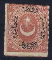Turkey: Mi Nr 18b  Isfl 79  MH/* Falz/ Charniere - 1858-1921 Empire Ottoman