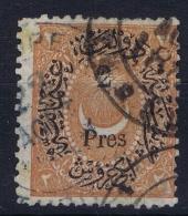 Turkey: Mi Nr 25  Isfl 95  Obl./Gestempelt/used Signed/ Signé/signiert - Gebruikt