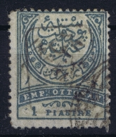 Turkey: Mi Nr 65A  Isfl 144  Obl./Gestempelt/used Signed/ Signé/signiert - 1858-1921 Empire Ottoman