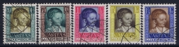 Luxembourg: 1930 Mii Nr 227 - 231 , Yv 226 - 230 Used Obl - Luxembourg