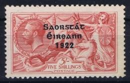 Ireland:  1922 Mi Nr 38 Im  Not Used (*) SG - 1922-37 Stato Libero D'Irlanda