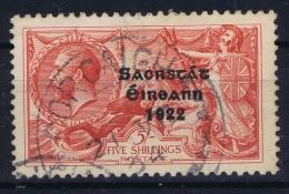 Ireland:  1922 Mi Nr 38 I  Obl./Gestempelt/used   6 Mm   Nice Cancel - 1922-37 Stato Libero D'Irlanda