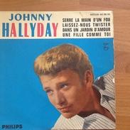 45 Tours Johnny Hallyday - Laissez-nous Twitter - Disco, Pop