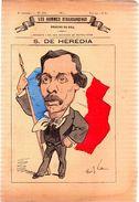 S.De Hérédia.Les Hommes D'aujourd'hui.Dessins De GILL.3e Volume.-n°113.(vers 1880) 4 Pages. - Revues Anciennes - Avant 1900