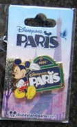 DLP - Mickey Beside A Sign Which Reads Paris - Disney
