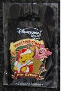 DLRP - Winnie's Christmas Event - Pooh & Piglet   Limited Edition  600 - Disney