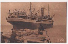 Pacific Line RMS Orbita Shipping Postcard #2 B625 - Bateaux