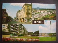 Czechoslovakia Teplice - Stadium Stadion Estadio Stadio - 1980s Unused - Soccer