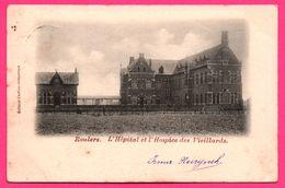 Roulers - L'Hôpital Et L'Hospice Des Vieillards - Édit. CARLIER DISPERSYN - 1901 - Oblit. Moorslede - Roeselare