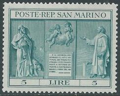 1937 SAN MARINO INDIPENDENZA MNH ** - X11 - San Marino