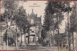 Niel Aan De Rupel Sint St Hubertusplein Geanimeerd ZELDZAAM - Niel