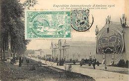 - Somme - Ref-B982- Amiens - Exposition Internationale 1906 -vue D Ensemble Des Palais Et Casino - Casinos - Expositions - Amiens