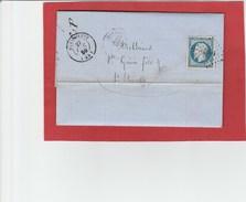 Drôme - Dieulefit - PC1097 Sur N°14 - LAC De 1859 - Marcophilie (Lettres)