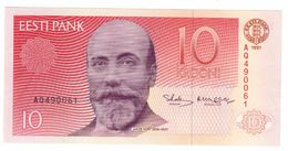 Estonia 10 Krooni 1991 UNC - Estonia