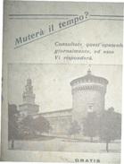 IL NUOVO METODO DI CURA DEL PARROCO HEUMANN  MUTERA' IL TEMPO OPUSCOLO PUBBLICITARIO PRODOTTI HEUMANN DEL 1931 - Guerra 1939-45