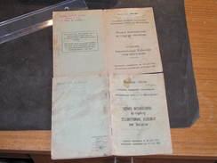 2 PERMIS DE CONDUIRE INTERNATIONAUX  Au Nom De SAURENS Joseph 1-16/12/49 Et 2- 10/2/48 - Documents Historiques