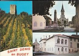 01----SAINT DENIS EN BUGEY--multivues--voir 2 Scans - Otros Municipios