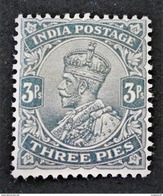EFFIGIE DE GEORGE V 1911/26 - NEUF ** - YT 79 - Indien (...-1947)