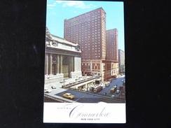 NEW YORK CITY    HOTEL COMMODORE - Cafés, Hôtels & Restaurants