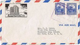 25116. Carta Aerea CARACAS (Venezuela)  1948. Membrete Hotel Nacional - Venezuela