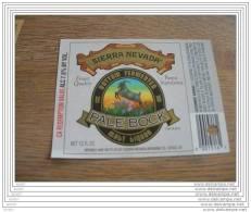 BEER LABEL USA SIERRA NEVADA  PALE BOCK - Beer