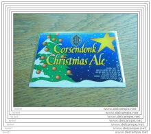 ETIQUETTE BIERE CORSENDONK CHRISTMAS ALE - Beer