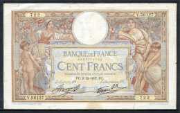 376-France Billet De 100 Francs 1937 FC V56127 - 1871-1952 Antiguos Francos Circulantes En El XX Siglo