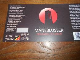 ETIQUETTE BIERE HET ANKER MANEBLUSSER - Cerveza