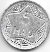 *  Vietnam  5 Hao  1946  Km 2.1    Xf - Viêt-Nam