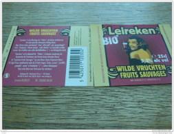 ETIQUETTE BIERE LEIREKEN WILDE VRUCHTEN 25CL - Beer