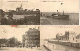 LOT 4 CARTES LOIRE ATLANTIQUE - Postcards