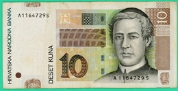 10 Kuna - Croatie - 2001 - N° A1164729S - TB+ - - Croatie