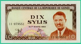 Dix Sylis - Guinée - 1 Mars 1960 - N° II   979551 - Neuf - - Guinea