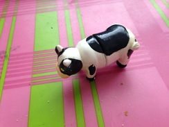 MAGNET Vache FNSEA Employeurs (contre Gaspillage Alimentaire) Voir Photo - Animali & Fauna
