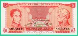 5 Bolivares - Vénézuéla - 1989 - Neuf - N° H33018437 - - Venezuela