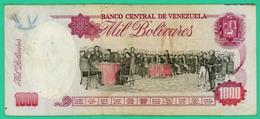 000 Bolivares - Vénézuéla - 1995 - N° H1439357159 - TB+ - - Venezuela
