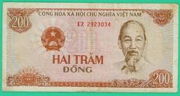 200 Dong - Viet-Nam - TB+ - N° EZ2923034 - - Vietnam