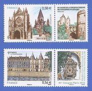 FRANCE 4494 + 4554 NEUFS ** CONGRES 2010 2011 ASSOCIATIONS PHILATELIQUES - France
