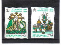 XAX122 VATICAN  1993   MICHL  1097/98 ** Postfrischer SATZ   SIEHE ABBILDUNG - Vatikan