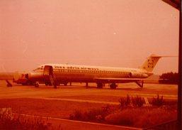 Photo Originale DC-9-81 Immatriculé YU-ANA De La Cie Yougoslave Inex-Adria Aviopromet S'écrase Au Matin Du 1.12.1981 - Luftfahrt