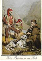 PATRES PYRENEENS AU 19EME SIECLE - Personnages