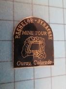 Pin411i Pin´s Pins / Beau Et Rare : VILLES /  USA OURAY COLORADO BACHELOR SYRACUSE MINE TOUR - Städte