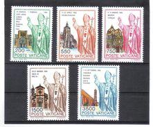 XAX98 VATICAN  1991   MICHL  1046/50 ** Postfrischer SATZ   SIEHE ABBILDUNG - Vatikan