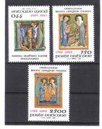 XAX84 VATICAN  1989   MICHL  973/75 ** Postfrischer SATZ   SIEHE ABBILDUNG - Vatikan