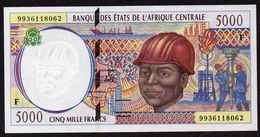 #07. CENTRAL AFRICAN REPUBLIC. 5000 FRANCS. (1999). Pick 304Fe. UNC / NEUF - Central African States