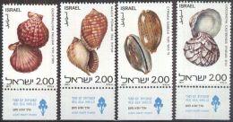 ISRAEL 1977 MI-Nr. 726/29 ** MNH - Israel