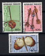 TOGO - A302/304° - INSTRUMENTS DE MUSIQUE - Togo (1960-...)