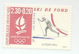 2678- J.O D'Albertville 92 -ski De Fond (1991) - Frankreich